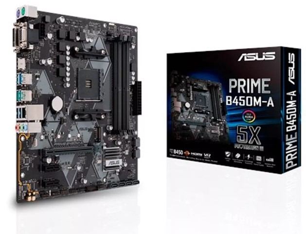 Motherboard ASUS (AM4) PRIME B450M-A